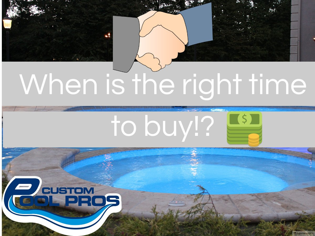 The best time to buy a pool in NJ….. what most pool companies won't tell you
