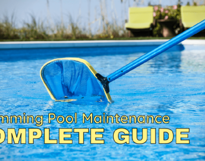 Complete Guide on Swimming Pool Maintenance